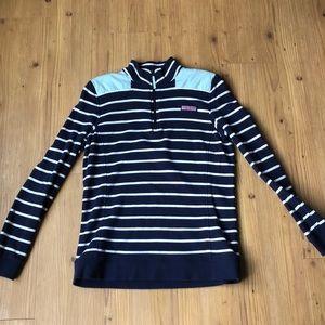 Vineyard vines Navy striped shep shirt